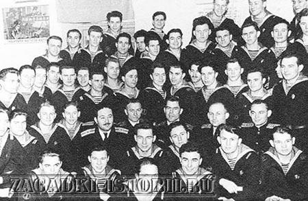 Экипаж погибшей подлоки Б-37