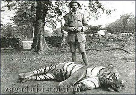 Охота на тигров-людоедов в Индии