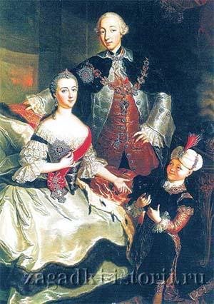 Пётр III и Екатерина II