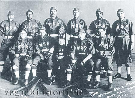 Тюремная бейсбольная команда Вайоминга