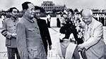 Хрущёв и Мао Дзедун