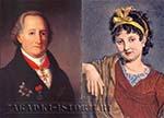 Вольфганг Гёте и Кристиана