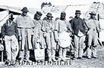 Солдаты-негры на стороне южан-рабовладельцев