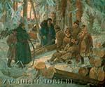 Лашманы заготавливали корабельный лес